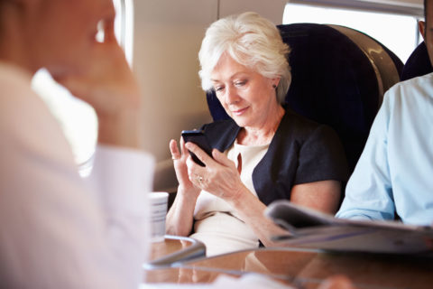 Seniors Staying Connected When Travelling