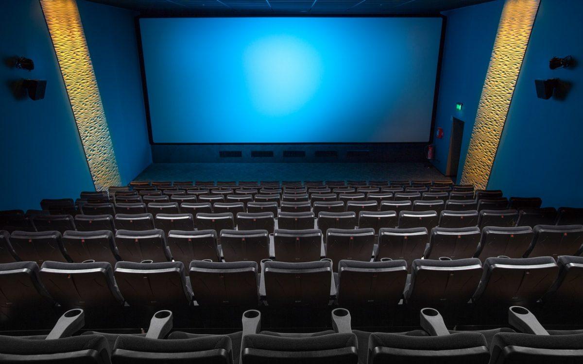 Empty movie room