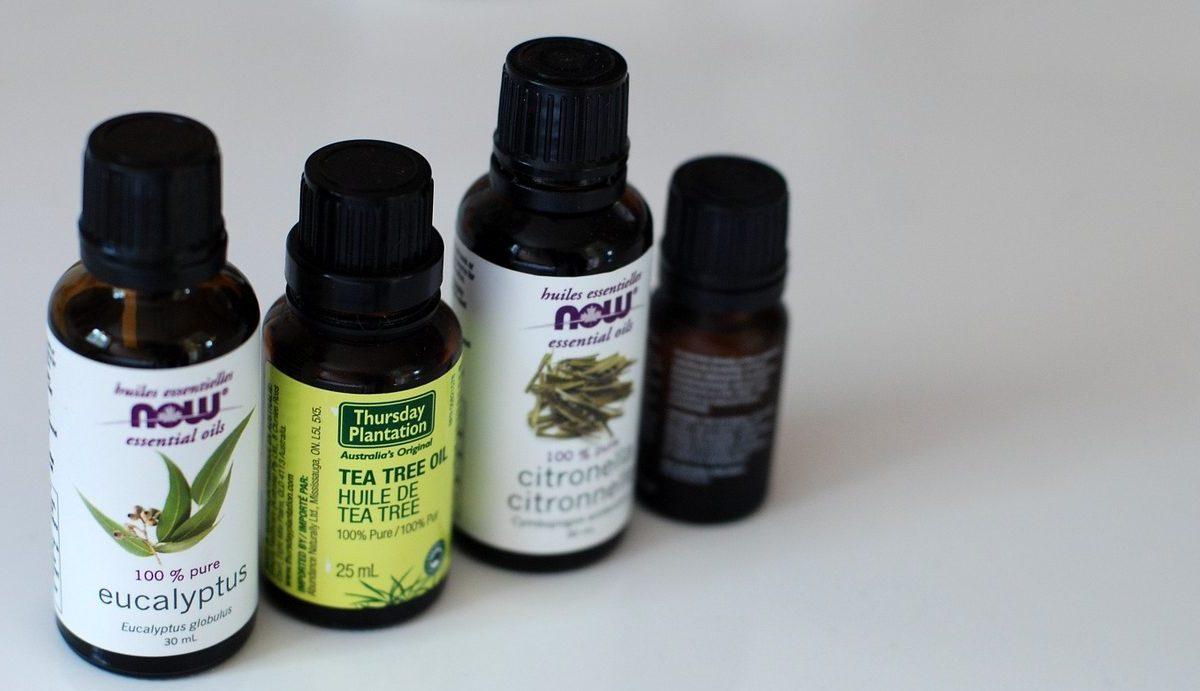 Four small essential oils