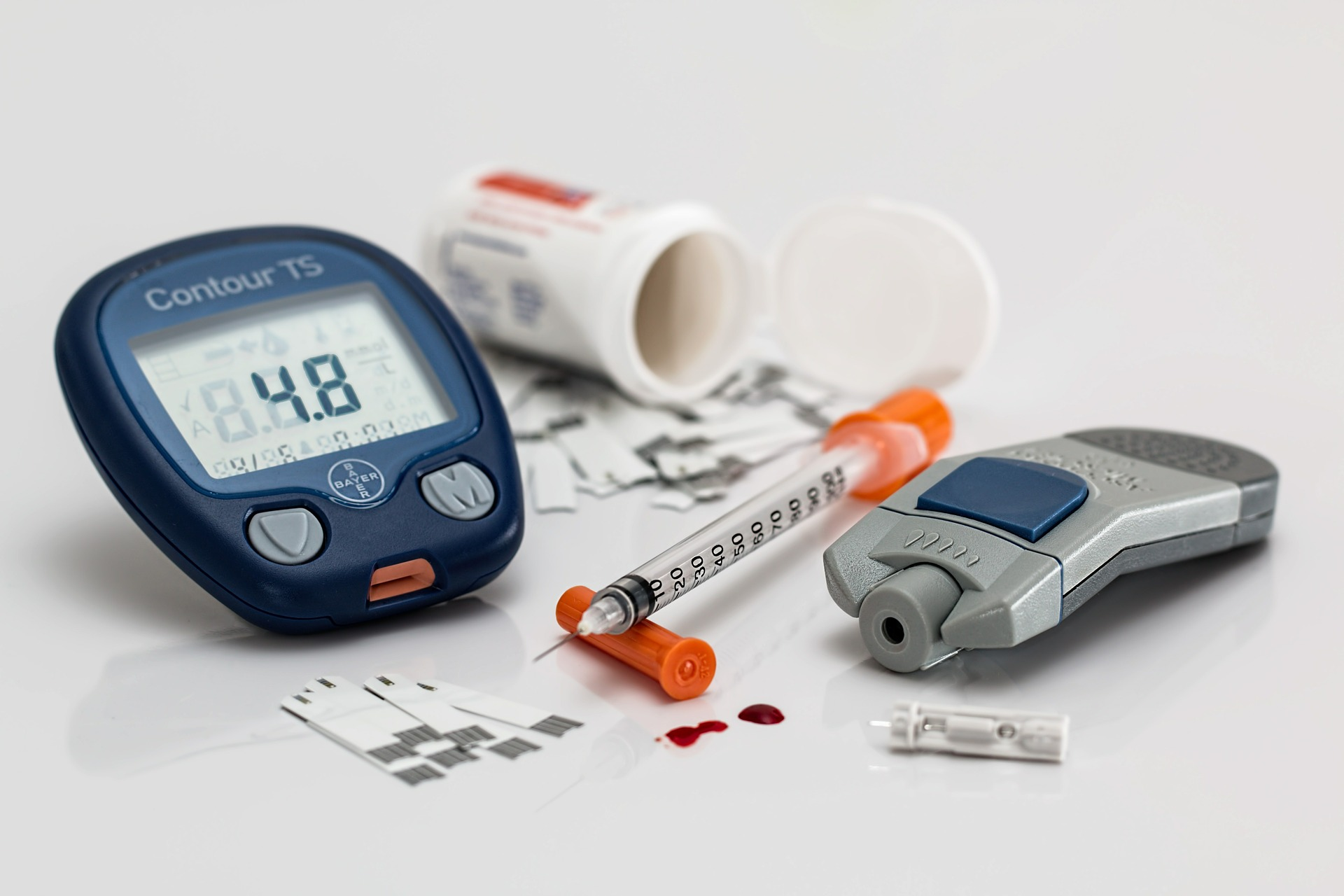 glucometer and diabetes testing equipment
