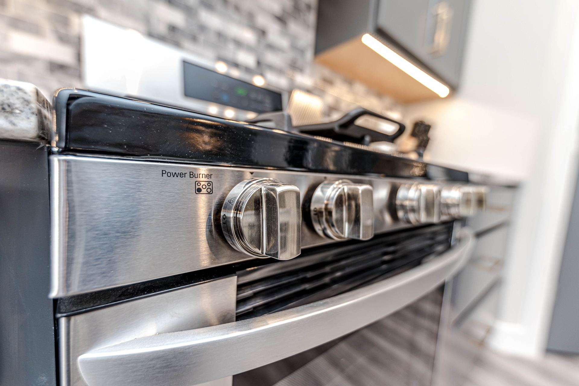 stove and oven dials