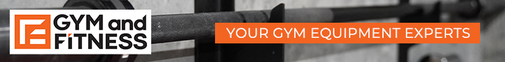 gym and fitness equipment banner