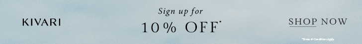 Kivari sign up 10% off