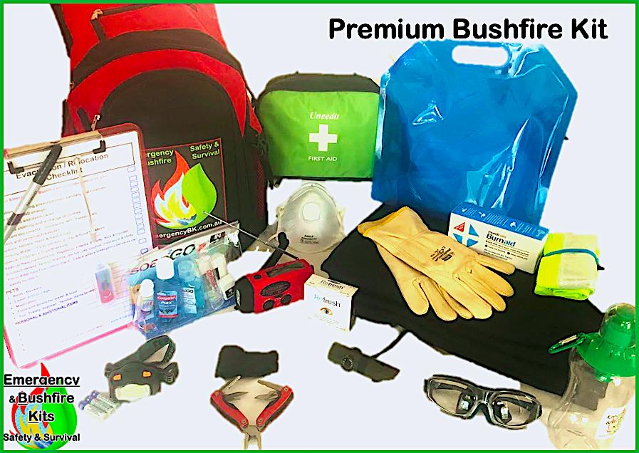 Emergency bushfire kit